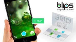 BLIPS - phụ kiện giúp biến điện thoại thành kính hiển vi kỹ thuật số