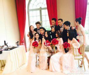 Hình ảnh đầu tiên trong đám cưới đẹp như cổ tích của sao 'Anh hùng xạ điêu'