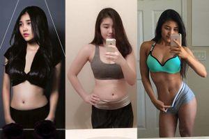 Khó mà tin được, cô gái Việt xinh đẹp này từng chỉ nặng 39kg