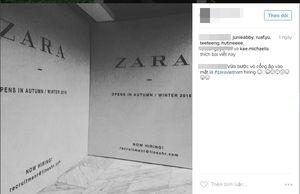 Đột kích store của Zara sắp khai trương tại Việt Nam
