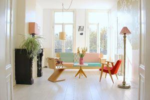 Trang trí nhà với màu pastel