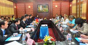 Lãnh đạo VKSNDTC tiếp Đoàn đại biểu Viện kiểm sát tối cao Cộng hòa Cuba
