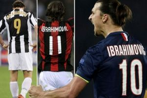 Đến M.U, Ibrahimovic sẽ mặc áo số mấy?