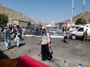 Đánh bom tự sát ở Afghanistan: Hơn 60 người thiệt mạng, IS nhận trách nhiệm
