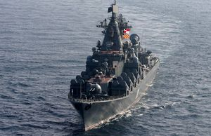 Rợn người tên lửa diệt hạm trên tàu tuần dương Slava Nga