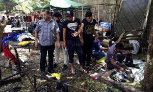 Hiện trường vụ đánh bom liều chết kinh hoàng tại Baghdad