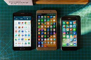 """Xem màn hình 6"""" to bự và khả năng hiển thị của Galaxy A9 Pro"""