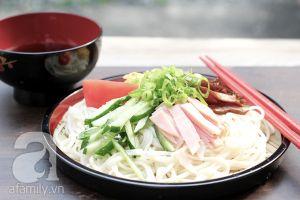 Mùa hè nhất định phải thử món mì lạnh kiểu Nhật trứ danh