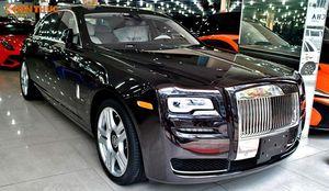 Rolls-Royce Ghost Series II màu độc hơn 20 tỷ tại VN