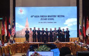 Ngoại trưởng ASEAN ra Tuyên bố chung bày tỏ quan ngại về Biển Đông