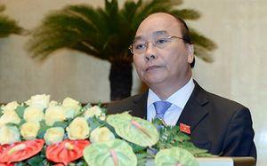 Thủ tướng trình Quốc hội cơ cấu tổ chức Chính phủ khóa mới