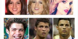 Yêu gái 'dao kéo', Ronaldo bất ngờ bị xỉa xói