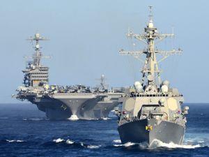 """Mỹ mưu bày """"phong tỏa trận"""" đánh bại Trung Quốc"""