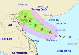 Cơn bão đầu tiên năm 2016 hướng vào Quảng Ninh, Hải Phòng