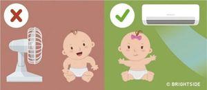 7 nguyên tắc giúp bé an toàn khi dùng điều hòa trong mùa hè