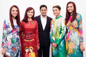 3 người con đẹp như hoa của Hoa hậu Việt Nam năm 1990