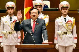 Ông Nguyễn Hòa Bình phát biểu mạnh mẽ sau đắc cử Chánh án TANDTC