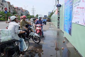 Nhiều người bất ngờ vì bến xe Lương Yên đóng cửa