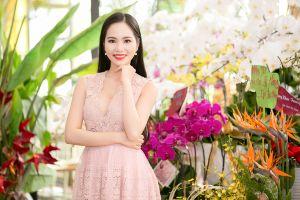 Ngẩn ngơ trước vẻ dịu dàng đầy quyến rũ của Hoa hậu Dương Kim Ánh