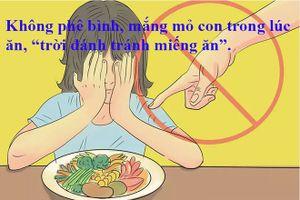 Những sai lầm cần tránh khi phê bình con