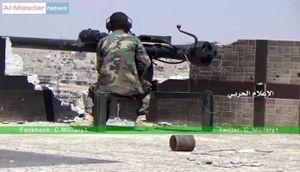 Quân đội Syria khép vòng vây và kiểm soát hỏa lực đường tiếp vận Aleppo