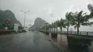 Bão số 1: Hải Phòng và Quảng Ninh đã xuất hiện mưa gió