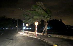 Hình ảnh đầu tiên Đồ Sơn đang chịu ảnh hưởng trực tiếp từ bão số 1