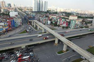 12 nhà ga đường sắt Cát Linh-Hà Đông dần thành hình