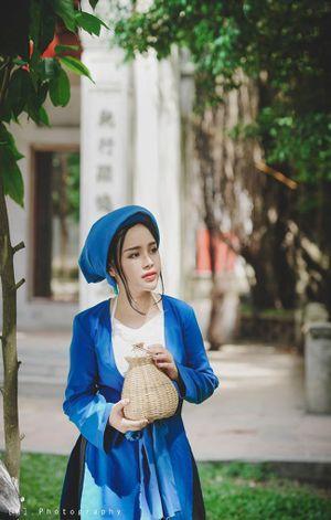 Thiếu nữ Hà thành hóa thân Tấm – Cám đẹp như tranh
