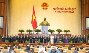 KỲ HỌP THỨ NHẤT, QUỐC HỘI KHÓA XIV:Phê chuẩn Phó Chủ tịch và ủy viên Hội đồng Quốc phòng an ninh