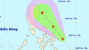Áp thấp nhiệt đới mới có thể mạnh lên thành bão số 2