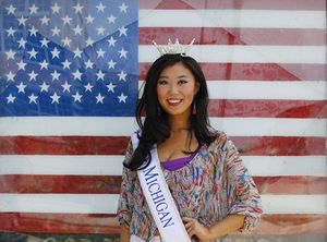 Cô gái Trung Quốc bị chê bai khi đăng quang Hoa hậu Michigan tại Mỹ