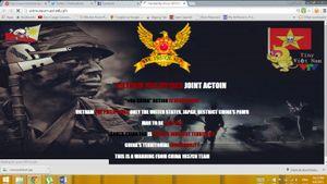 Hacker tấn công Vietnam Airline đưa cảnh báo giống hệt khi tấn công website của Philippines