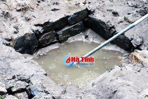 Hà Tĩnh: Phát hiện giếng cổ thời kỳ Champa