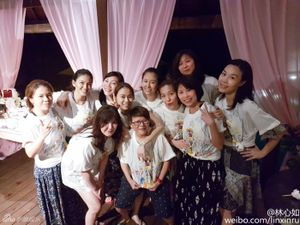 Những góc nồng nàn tiệc cưới Lâm Tâm Như - Hoắc Kiến Hoa