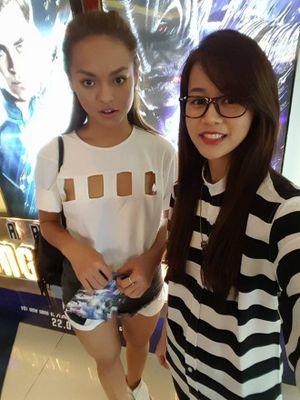 An Nguy tung tăng xem phim cùng Mai Ngô, tiết lộ lần đầu gặp Kim Chi đã 'lườm nguýt, ghét nhau như gì'