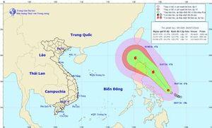 Ngày mai, áp thấp nhiệt đới có thể mạnh thành bão