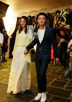 Lâm Tâm Như – Hoắc Kiến Hoa rạng ngời trong tiệc tối trước lễ cưới