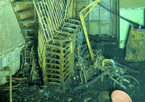 Hiện trường vụ cháy làm 6 người trong gia đình chết thảm
