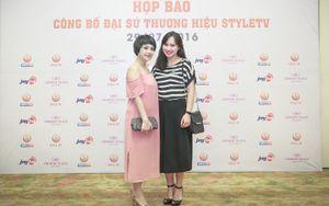 Á hậu Huyền My làm đại sứ Style TV nhờ phong cách thời trang ấn tượng
