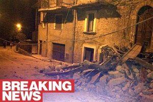 Động đất ở Italy: Toàn bộ thị trấn bị phá hủy