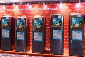Sharp ra mắt tủ lạnh Apricot với công nghệ J-Tech Inverter: nhỏ gọn, 3 ngăn rộng rãi, tiết kiệm điện
