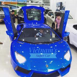 """Siêu xe Lamborghini Aventador LP700-4 """"màu độc"""" giá 34 tỷ tại VN"""