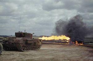 Loạt thiết kế xe tăng không tưởng giúp Đồng Minh mở màn D-Day