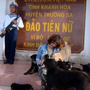Trường Sa dưới ống kính nữ nhà báo Hà Nội