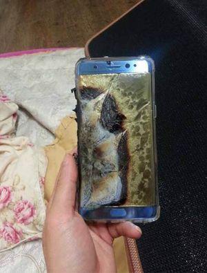 Galaxy Note 7 phát nổ khi sạc pin?