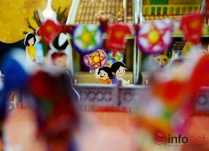 Dắt con về ký ức tuổi thơ qua đồ chơi Trung Thu Việt