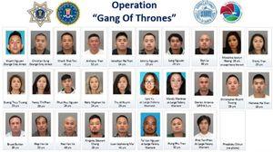 Cảnh sát Mỹ bắt hơn 20 thành viên nhóm tội phạm gốc Việt