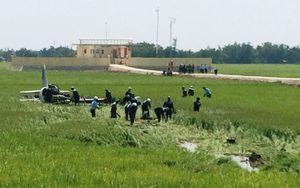 Bộ Quốc phòng thông tin về vụ máy bay quân sự rơi ở Phú Yên