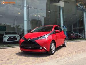 Cận cảnh Toyota Aygo 2016 giá 790 triệu đồng tại VN